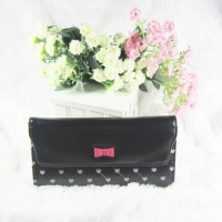 Candy Luv Wallet Black