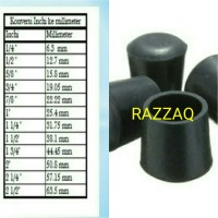 Harga karet rubber kaki bulat meja kursi pipa besi 1 1 2inci kaki chitose | WIKIPRICE INDONESIA