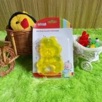 gigitan bayi reliable water filled teether beruang kuning