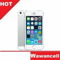 Apple Iphone 5S Original - Silver - 32 GB - Garansi 1 Tahun
