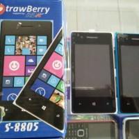 hp android murah strawberry inova strawberry s8805 4inc 2kamera