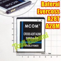 Baterai Evercoss / Cross A28t A28m Mcom