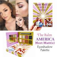 The Balm AMERICA MEET MATTE Eyeshadow Palette