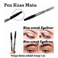 Jual Pen Kuas Mata EBM / single eye brush - bisa untuk eyeliner / eyebrow Murah