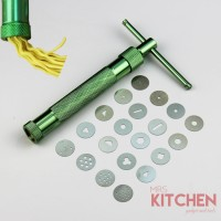 Fondant Clay Extruder tool with 20 tips