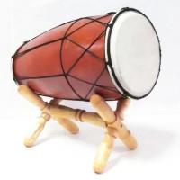harga Alat Musik Tradisional Gendang Dangdut Kendang Jawa 25 cm kayu mahoni Tokopedia.com