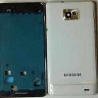 Casing Samsung Galaxy S2 I9100 white/black fullset