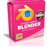 DVD Tutorial Animasi Dengan Blender