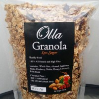 Jual Muesli Olla Granola ~ Less Sugar Murah