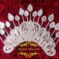 harga mahkota melayu / mahkota pengantin / mahkota mentul Tokopedia.com