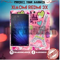 harga Garskin Xiaomi Redmi 3x - Motif Paris Tokopedia.com