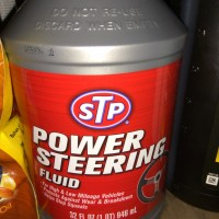 Oli Power Steering / STP power steering Fluid kemasan 946ml