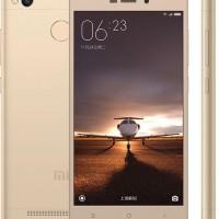 Xiaomi Redmi 3s pro 3/32gb gold, ram 3gb internal 32gb garansi 1th