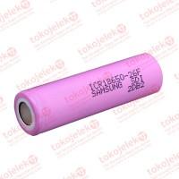 SAMSUNG ICR18650-26F 2600mAh 5.2A Baterai Li-ion 18650 Original Flat