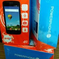 HANDPHONE POWERPHONE BOLT E1 4G LTE WHITE G49VX