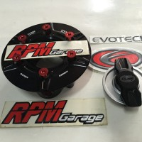 Evotech Gas Cap BMW S1000RR Black Red