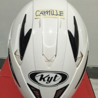 Helm KYT Scorpion King Double visor white / putih