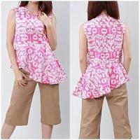 Blus Batik Solo, Blus Batik Asmad Pink