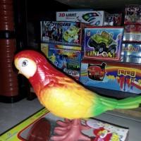harga Mainan Anak Burung Beo Lucu Unik Bisa Melompat Lompat Tokopedia.com