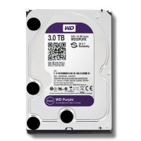 HARDDISK WDC PURPLE FOR CCTV 3 TB SATA