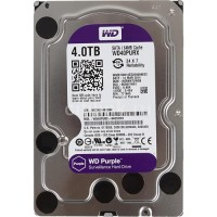 HARDDISK WDC PURPLE FOR CCTV 4 TB SATA