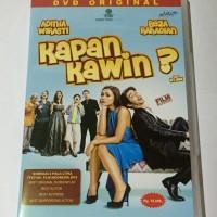 DVD Original Kapan Kawin (With Case)