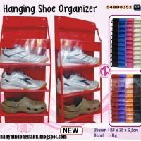 Tempat Rak sepatu gantung, untuk menyimpan koleksi sepatu kesayangan