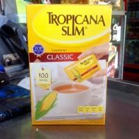 Tropicana Slim Sweetener Classic Isi 100 Sachet | 250 gram
