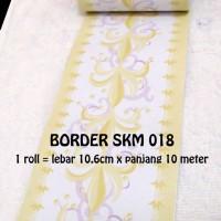 WALLPAPER BORDER LIST TEMBOK 018 (L=10,6CM X P=10M)