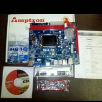 Motherboard LGA 1155 DDR3 H61 - BARU & Garansi