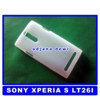 harga Silikon Sony Xperia S Lt26i Simple Soft Jelly Cover Case Putih Tokopedia.com