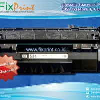 Cartridge Toner Bekas Q7553A 53A, Printer Hp Laserjet P2015
