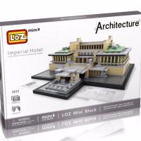 Loz Lego Nano Block Architecture Imperial Hotel