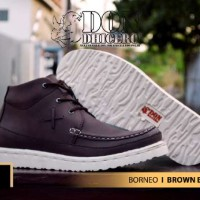 harga Sepatu Don Dhicero Borneo Brown Buk Leather Boots Tokopedia.com
