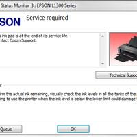 Resetter Epson L350 / L355 / L550 / L555 / L110, L210, L300 UNLIMITED