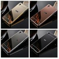 Infinix Hot Note / X551 Grade A Bumper Alumunium + Plat Mirror