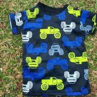 Kaos Anak Gambar truck lucu