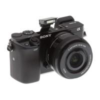 Sony Alpha ILCE-6000L (16-50mm) - Hitam
