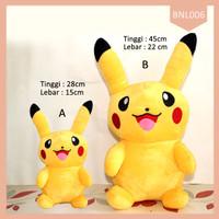 NEW!! Boneka Pikachu Smile MURAH | Boneka Big Pikachu Pokemon GO DDSH