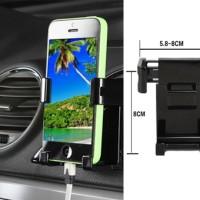 Holder / dudukan HP / Handphone AC mobil untuk layar 6 inchi