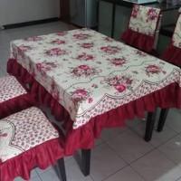 CTC/cover kursi/sarung kursi/homeset/taplak/meja makan set