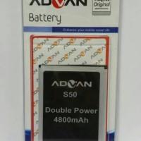 Batre / Batrai / Battery / Baterai Advan S50