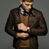 Jual jaket kulit domba asli 100% Murah