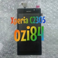 LCD+TOUCHSCREEN+FRAME SONY XPERIA C C2305 ORIGINAL
