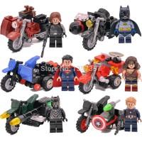 Jual lego kw batman v superman decool 7008-7013 super heroes Murah