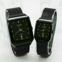 jam tangan cewe guess magnit hitam full semi super