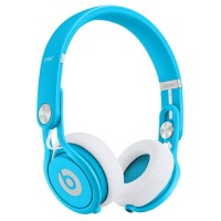 Headphone DJ beats mixr neon blue - bandung