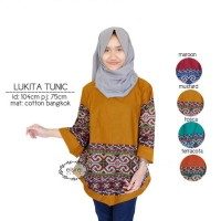likita tunic ori / supplier baju
