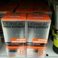 Loreal Men Hydra Energetic Multi Action 8 Cream Gel /Krim Perawatan