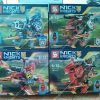 Lego SY SY716 Nexo Dino Knights set isi 4